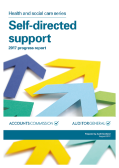 Audit Scotland Self Directed Support progress report