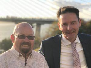 Peter Scott (ILF Scotland) and Kevin McGoldrick (South Lanarkshire SDS Network)