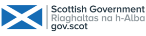 Logo for Scottish Government.