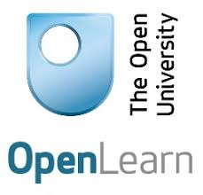 Open University Logo plain with blue icon which is a solid U shape with a circle cut out.