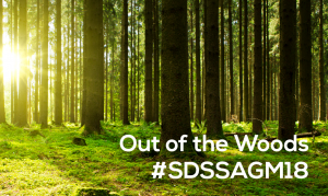 SDSS AGM 2018: Getting out of the Woods