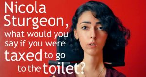 Call to action! Scrap the Care Tax - Don't tax us to go to the toilet!