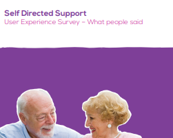 Self Directed Support User Experience Survey 2016 – What people said