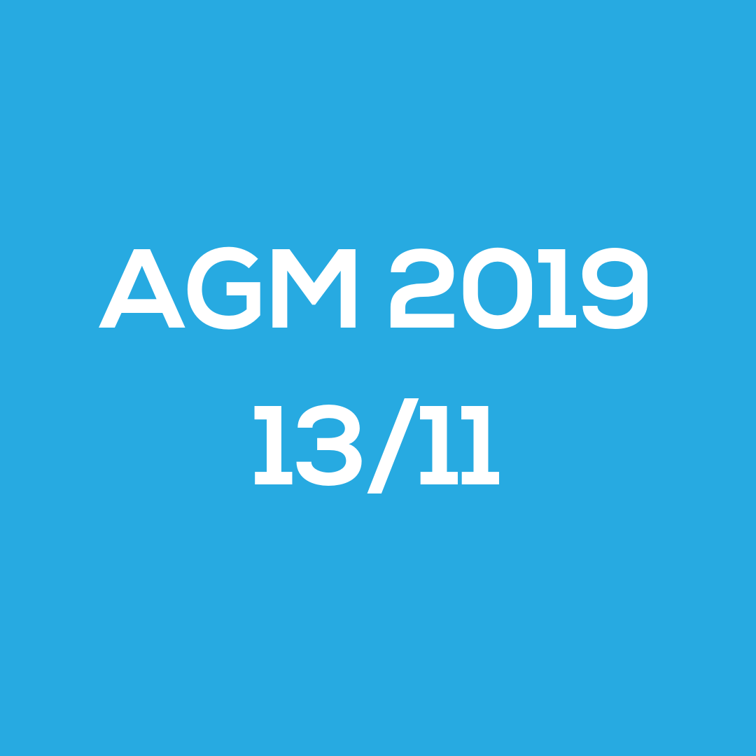 SDSS AGM 2019 (Members only event).
