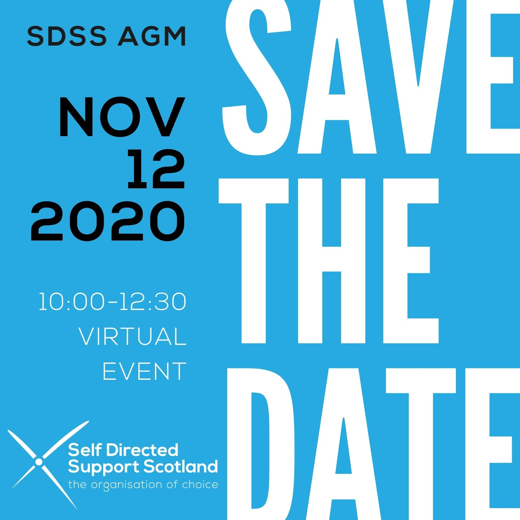 Save the date! SDSS AGM 2020. (Members only)