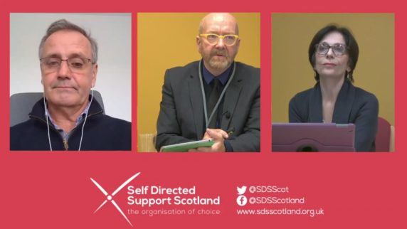 SDSS AGM 2020 - Independent Review of Adult Social Care