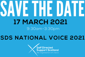 SAVE THE DATE - SDS National Voice 2021