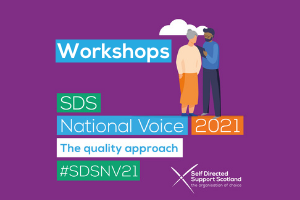 Confirmed workshops for SDS National Voice 2021