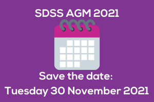 Save the date – SDSS AGM 2021