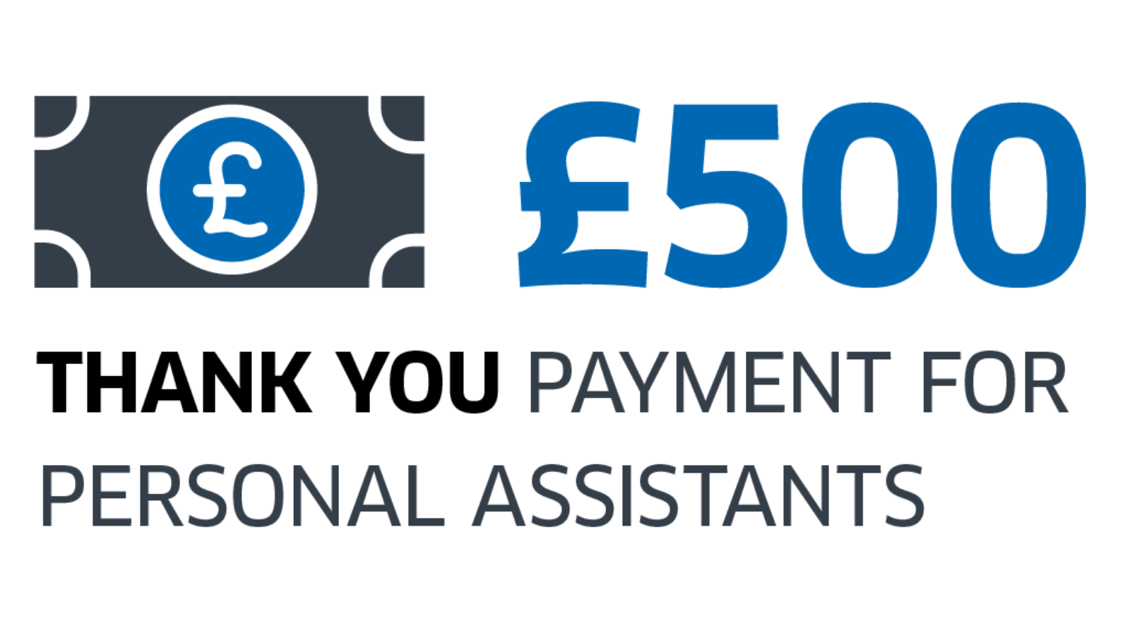 A dedicated online and paper based application form, administered by Scotland Excel on behalf of the Scottish Government, launched on Wed 30 June 2021 to pay Personal Assistants who are eligible to receive their £500 payment for NHS and Social Care staff.