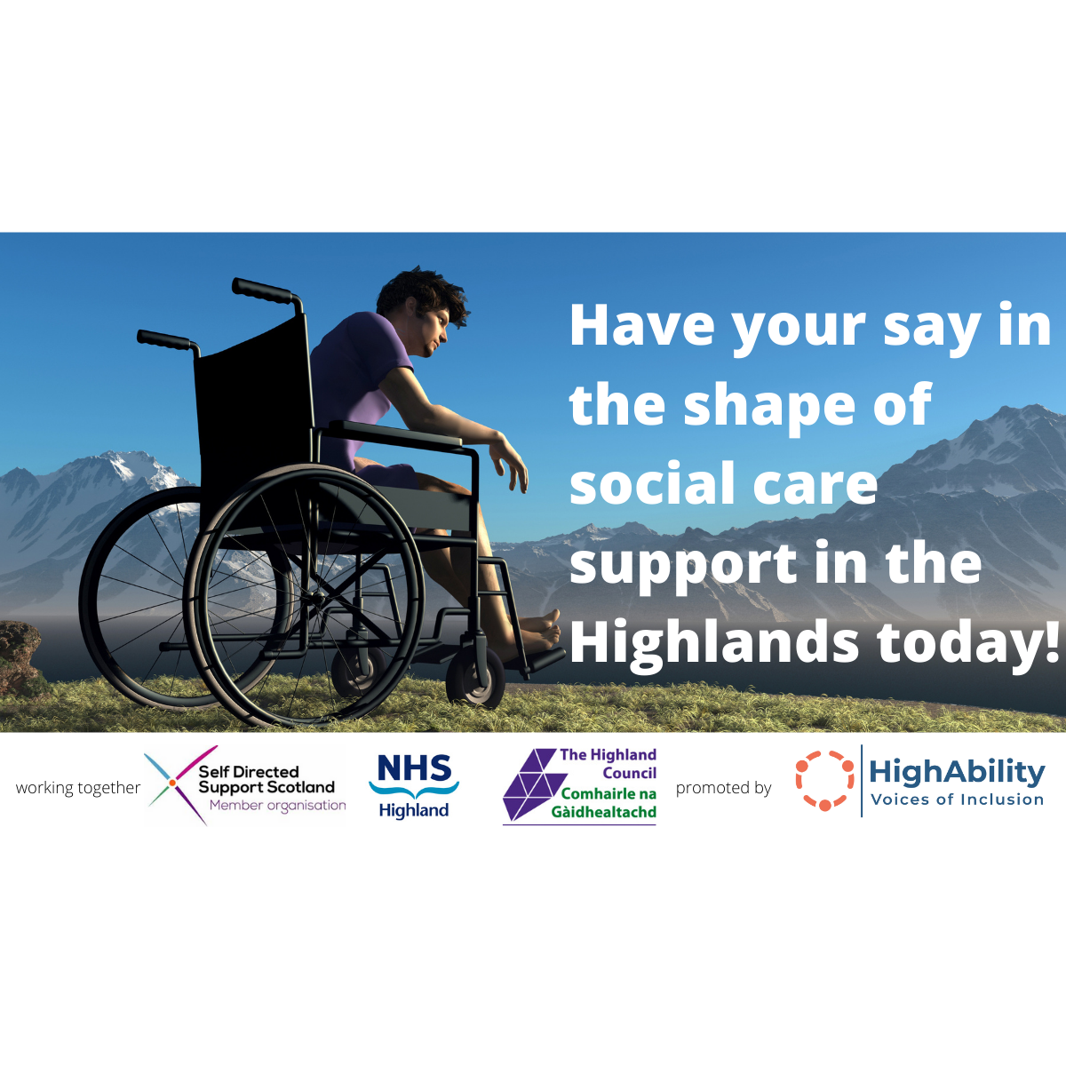 Highland SDS Strategy Consultation Pic 1