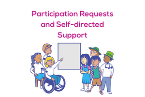 Participation Requests and Self-directed Support web