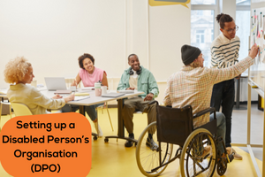 Setting up a Disabled Person's Organisation (DPO) web